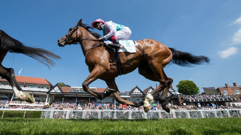 Enable: the Cheshire Oaks winner is descended from Oaks runner-up Bourbon Girl