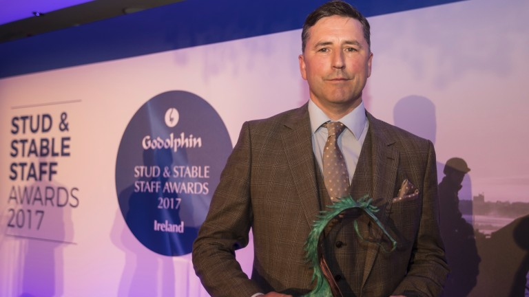 Owen Smyth: won the 2017 Irish Racing Excellence Award at the Godolphin Stud and Stable Staff Awards