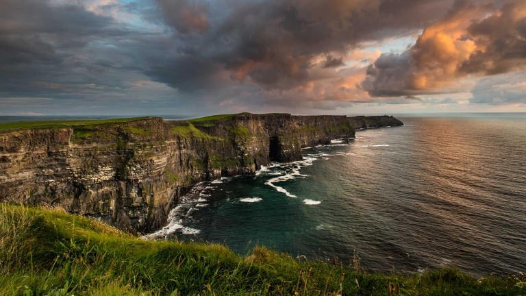 Cliffs of Moher: towering presence in the west of Ireland