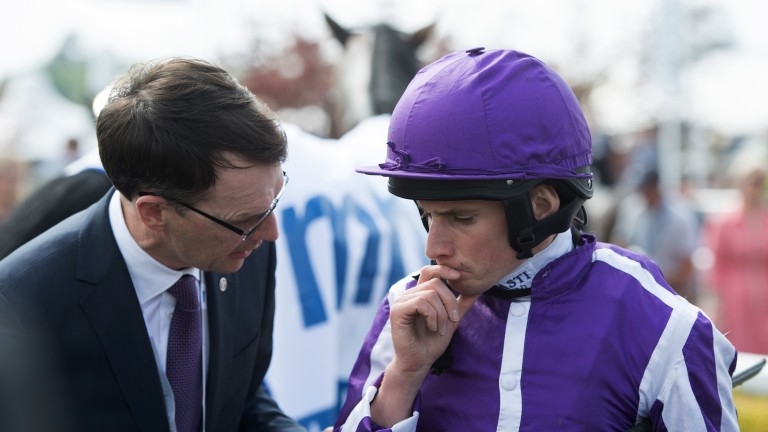 Ryan Moore is riding at Lingfield rather than one of Aidan O'Brien's three contenders in the French 1,000 Guineas