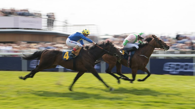 Poet's Word finds only Deauville too good at Chester