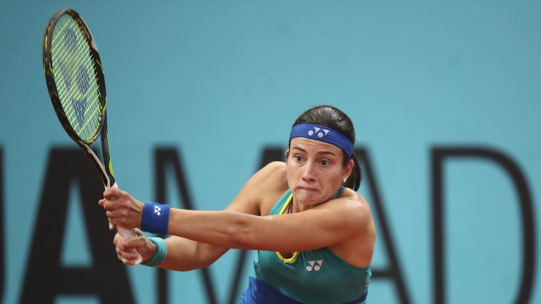 Anastasija Sevastova eased past Kiki Bertens in the last eight