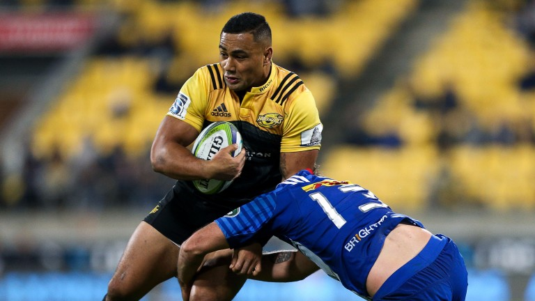 Ngani Laumape is a dangerous player for the Hurricanes