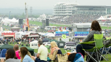 Epsom's Hill enclosure on Derby day