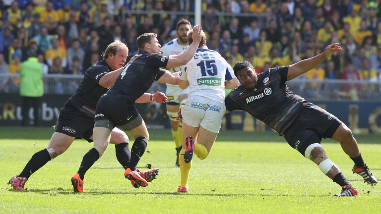 Saracens will look to their solid defence to keep Clermont in check