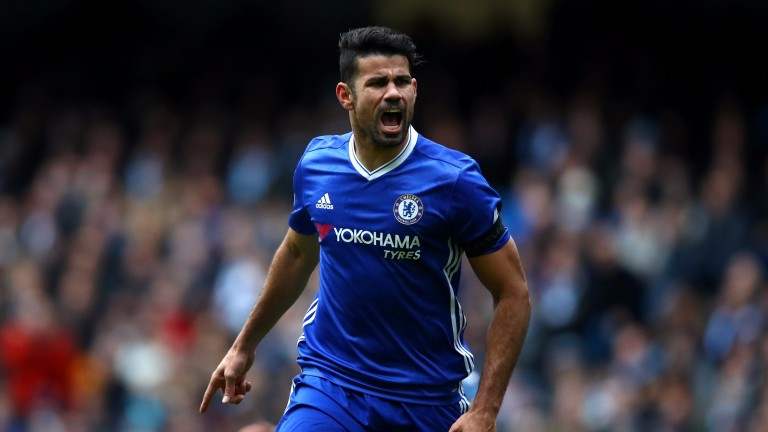 Diego Costa scored a crucial equaliser against Manchester City