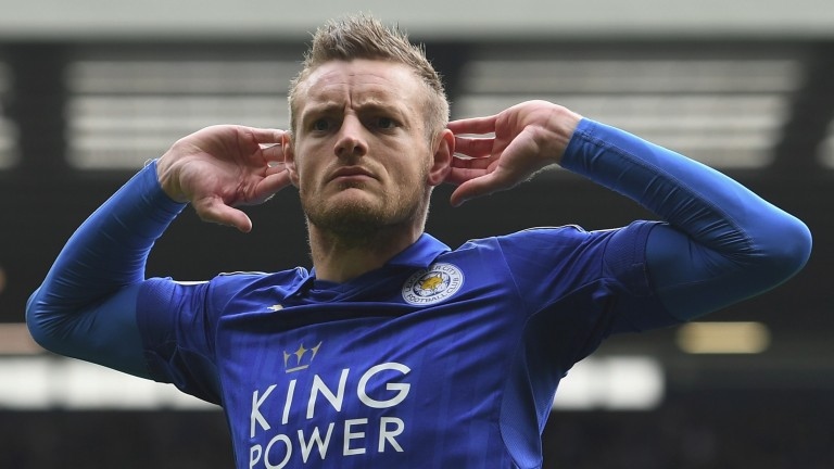 Jamie Vardy has rediscovered his scoring touch