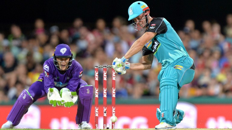 Big-hitting Kolkata opener Chris Lynn is in fabulous form