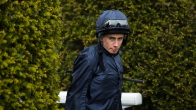Out for Moore: Ryan Moore appears in the Coolmore silks once again hungry for a big winner ahead of his ride on US Army Ranger in the Ormonde Stakes