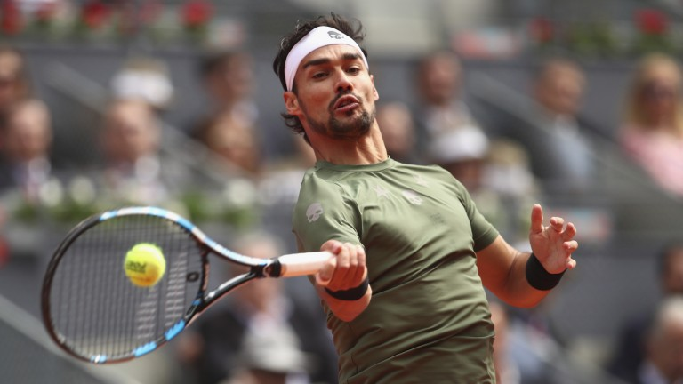 Fabio Fognini is world class on clay on his day