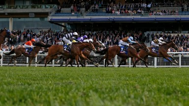 Fastnet Tempest and Josie Gordon win the totescoop6 Victoria Cup at Ascot