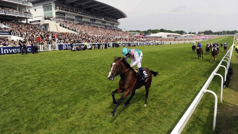 Workforce: a third homebred Derby winner for Khalid Abdullah's Juddmonte operation in 2010