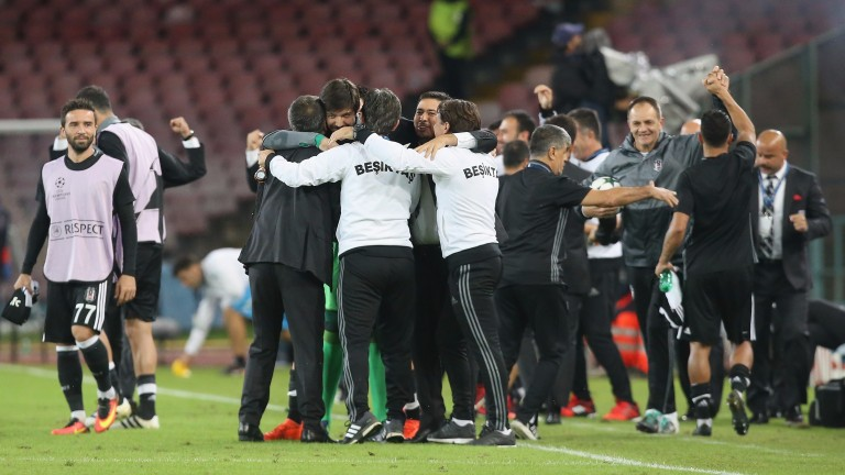Besiktas could be celebrating again
