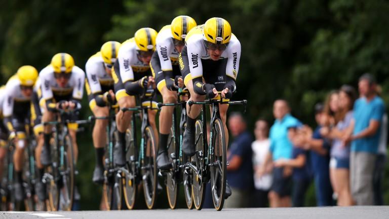 Jos van Emden (front) looks a good bet