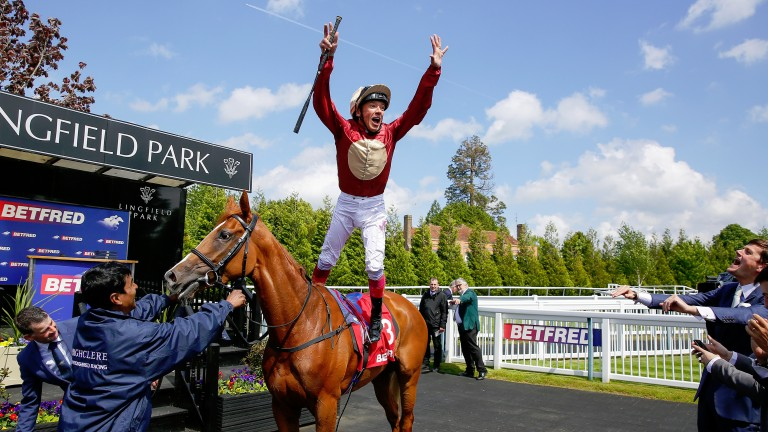 Hertford Dancer: Lingfield Oaks Trial winner may tackle the Ribblesdale Stakes