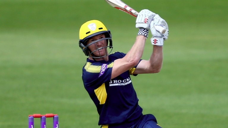Hampshire captain George Bailey