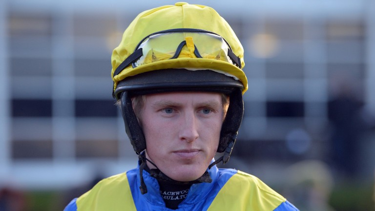 Harry Challoner: final ride was at Uttoxeter on Saturday