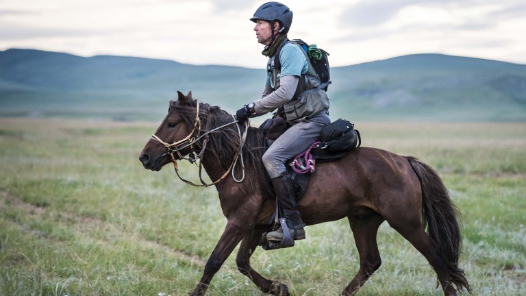 David Redvers completed the Mongol Derby last year