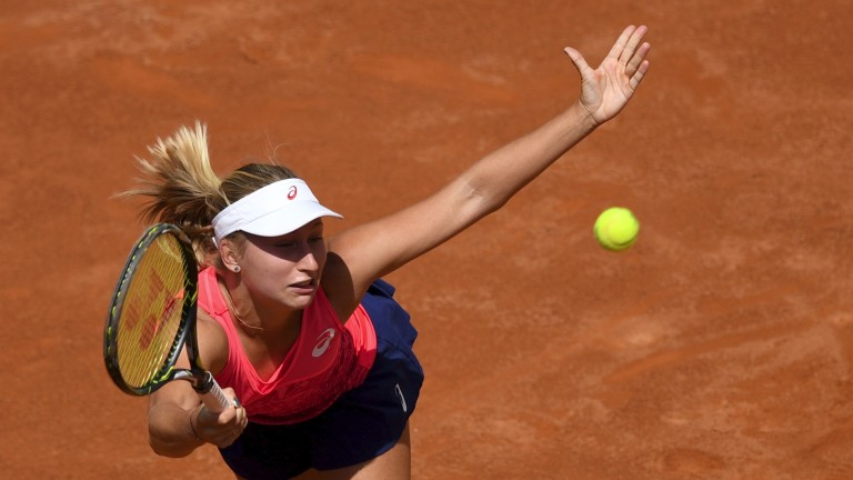Daria Gavrilova is playing her best clay tennis for a long time