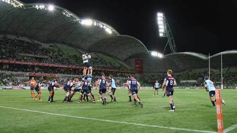 The Rebels and Waratahs met in Melbourne in round five