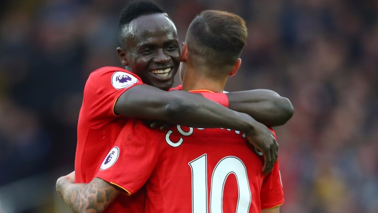 Philippe Coutinho and Sadio Mane were in sizzling form early on for Liverpool