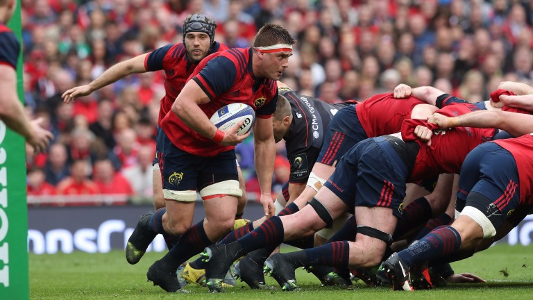 CJ Stander is a key ball-carrier for Munster