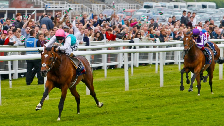2012 Lockinge Stakes: Frankel and Tom Queally surge clear of old rival Excelebration