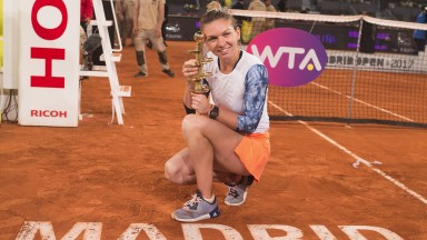 Simona Halep is in red-hot form on clay