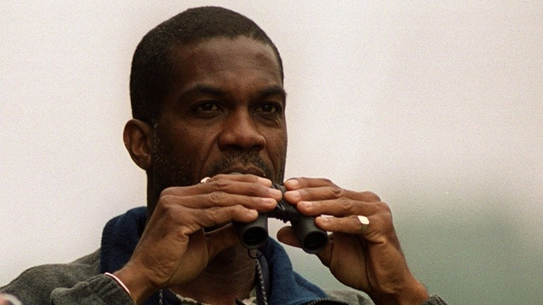 West Indian cricketing legend Michael Holding is taken with Mirage Dancer