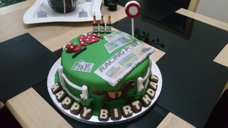 Racing Post readers have good taste in cakes