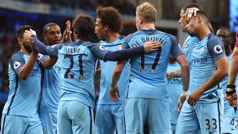 Manchester City will finish third with a win at Watford
