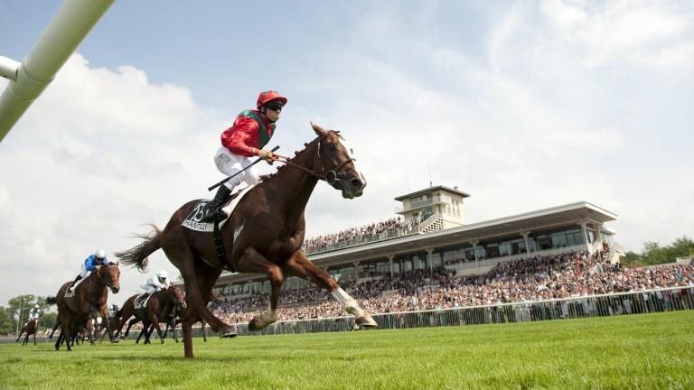 Lope De Vega emulates his sire's success in the Prix du Jockey Club