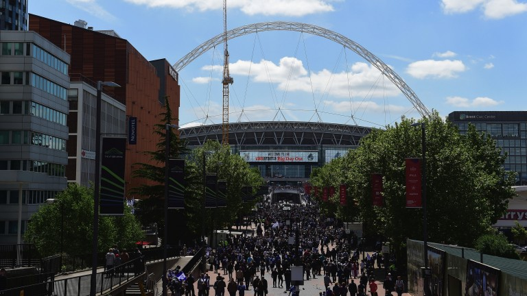 Wembley stadium hosts the non-league finals