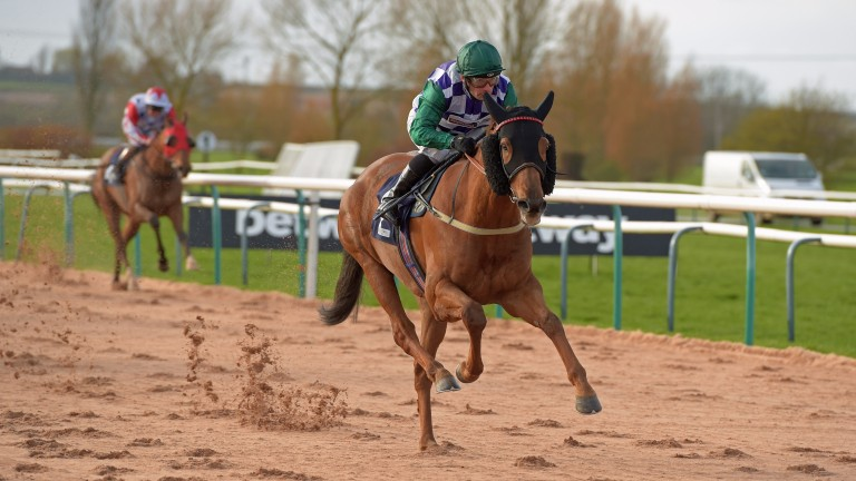 Supersta and Silvestre De Sousa winning at Southwell in March