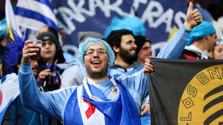 Uruguay fans are excited about their chances in South Korea