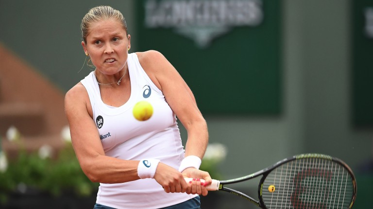 Shelby Rogers made the French Open quarter-finals in 2016