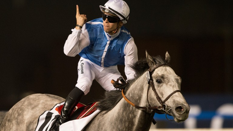 Solow and Maxime Guyon win the Dubai Turf