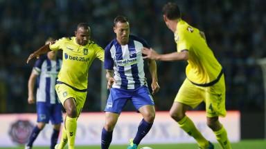 Brondby will hope midfielder Rodolph Austin (left) can anchor the diamond