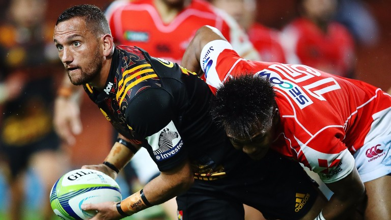 Chiefs fly-half Aaron Cruden