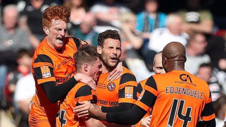 Dundee United put in a barnstorming display to see off Falkirk