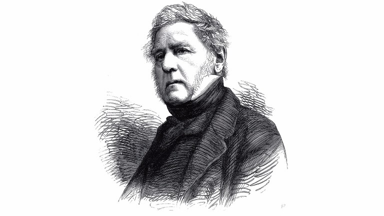 The Hon. H.J. Rous, Admiral R.N., Died June 19, 1877, Aged 82, 1877 Engraving (Photo by Liszt Collection/Heritage Images/Getty Images)