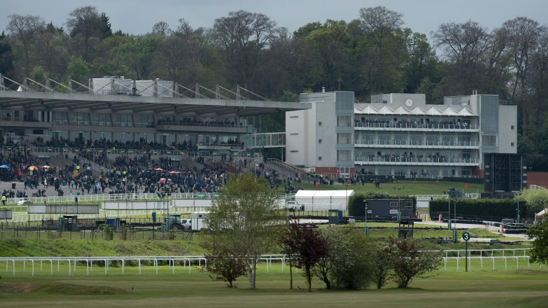 Sandown: track hosts the popular Brigadier Gerard fixture on Thursday