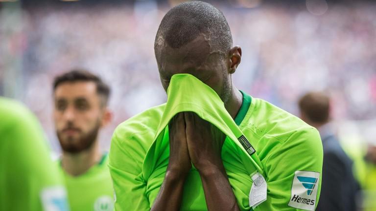 Wolfsburg were devastated after their loss to Hamburg