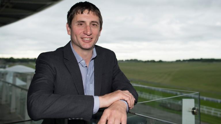 Jim Boyle: trains Apprentices' Derby winner Going Gone in Epsom