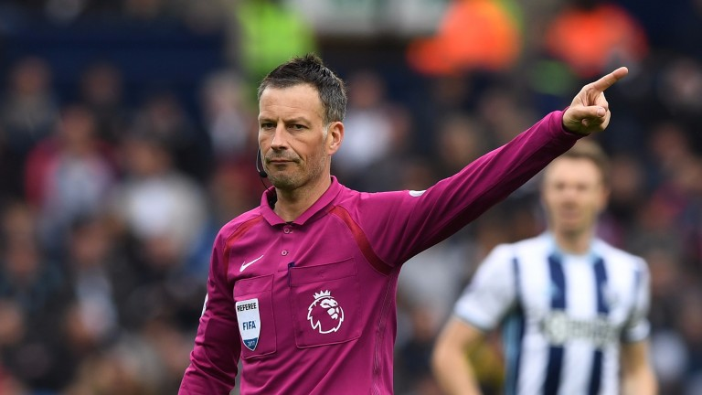 Mark Clarrenburg reacts during the Premier League match between West Brom and Leicester