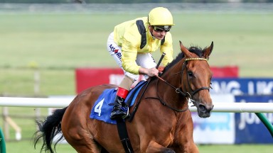 Nezwaah and Andrea Atzeni come home to victory in the Listed race at Ayr