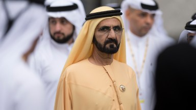 Sheikh Mohammed, whose rivalry with Coolmore has spread from sale ring to breeding shed to racecourse