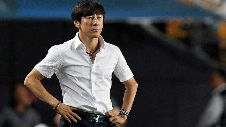 South Korea coach Shin Tae-Yong