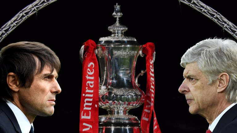 It's a match of great significance for Antonio Conte and Arsene Wenger
