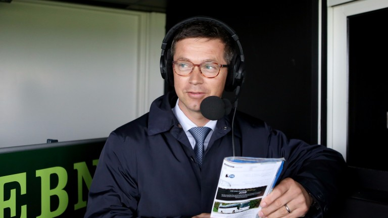 Roger Varian : Hoping to call Mount Logan home in the opener at Goodwood